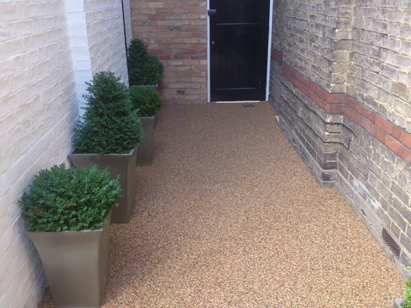 resin bound aggregate